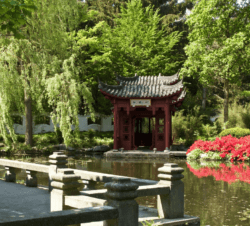 Chinese tuin - boothuis