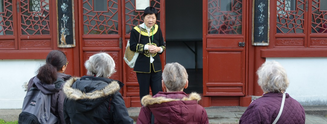 rondleiding chinese tuin